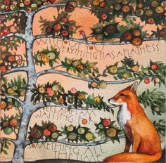 The apple tree, the fox and the robin. 2015 « Sam Cannon