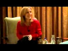David Duchovny asks Gillian Anderson who her favorite actor is.  Adorable.  Red speedo mention!