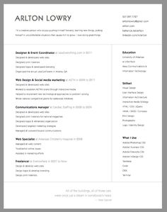 55 examples of light and clean resume designs professional