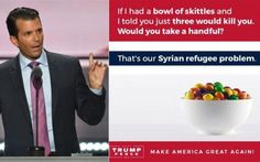 Wow! Twitter Removes Offensive Photo of Skittles From Donald Trump Jr's Tweet  Jim Hoft Sep 28th, 2016