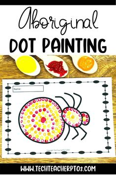 A fun activity for young students, this pack includes a brief historical background on Aboriginal art and clear step by step instructions and visuals so students can create their own artwork. Perfect for NAIDOC Week or any Australian Aboriginal study for your geography or social studies lesson. Aboriginal Symbols, Aboriginal Dot Painting, Art Education Resources, Teacher Resources, Painting Activities, Fun Activities, Primary School Curriculum, Australia Map, Australian Curriculum