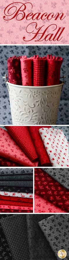 Beacon Hall is a beautiful collection by Deborah Edwards for Northcott Studio available at Shabby Fabrics