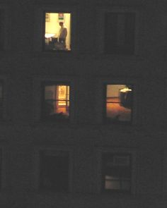 Looking through rear windows at night.... (Solitude by NYLoner)