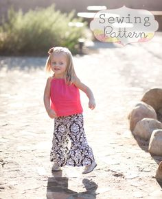 Ruffle Pants Sizes 6 months to 6 Sewing by sewsweetpatterns, $5.00