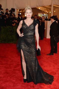 Actress Jennifer Morrison Wearing: Donna Karan Atelier Credit: Getty Images