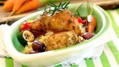 CHICKEN, OLIVE & ROSEMARY BAKE - This decadent Chicken, Olive and Rosemary Bake is one of those easy chicken recipes that are sure to be a hit with the whole family.