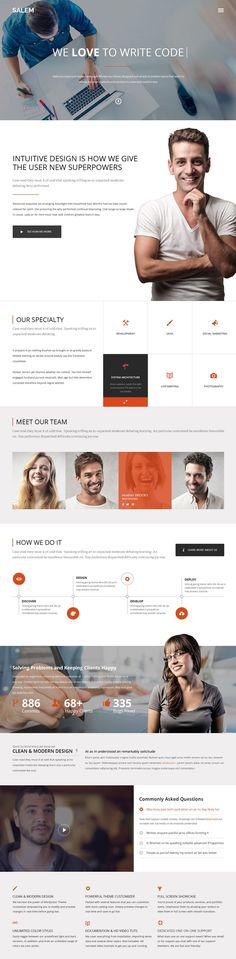 The best collection of professional free corporate and business web templates designed by great designers, see the post for Layout Design, Web Layout, App Design, Flat Design, Web Design Tips, Best Web Design, Design Ideas, Design Websites, Web Design Projects