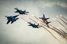 """Aerobatics: """"Russian Knights"""" - 30 years - Teller Report Jones Beach, Fifth Generation, New Politics, Air Show, 30 Years, Special Events, Fighter Jets, Pilot, Aviation"""
