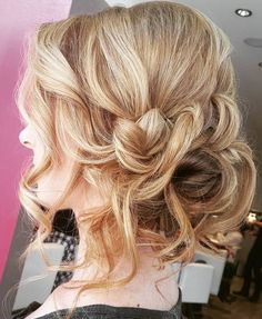 Loose+Messy+Curly+Updo