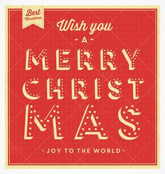 Merry Christmas! Vector Background