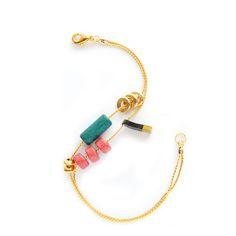 Golden Trinket Bracelet, www.babasouk.ca