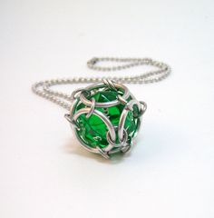Dungeons and dragons jewelry dice necklace by Eternalelfcreations, $10.00    You can see more of the creators work here:  http://www.etsy.com/shop/Eternalelfcreations?ref=si_shop