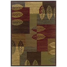 Sedia Home Tarin Rectangular Green Transitional Woven Area Rug (Common: 4-ft x 6-ft; Actual: 3.166-ft x 5.416-ft)