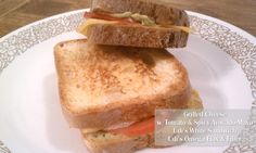 Grilled Cheese w/ Tomato & Spicy Avocado Mayo