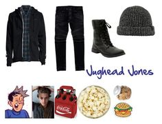 """Jughead Jones"" by truceandtrees on Polyvore featuring art, colesprouse, riverdale and jugheadjones"