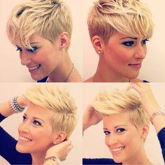 #shorthairlove #hair #haircut #hairstyle #shorthair #undercut #pixiecut