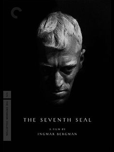The Seventh Seal is a 1957 Drama, Fantasy film directed by Ingmar Bergman and starring Max von Sydow, Gunnar Björnstrand. Max Von Sydow, The Criterion Collection, Great Films, Good Movies, Gerard Philipe, Pier Paolo Pasolini, Werner Herzog, The Seventh Seal, Ingmar Bergman