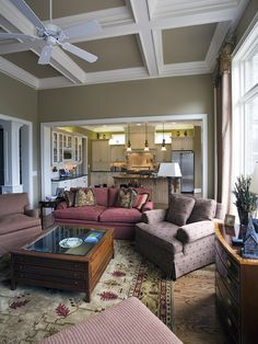 Traditional Family Room Paint Colors Design, Pictures, Remodel, Decor and Ideas - page 2