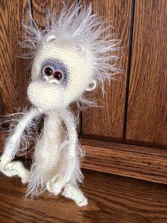 Project by happInessa. Baby monkey crochet pattern by Pertseva for LittleOwlsHut. #LittleOwlsHut, #Amigurumi, #CrohetPattern, #Crochet, #Crocheted, #funny rat, #Pertseva, #DIY, #Craft, #Pattern