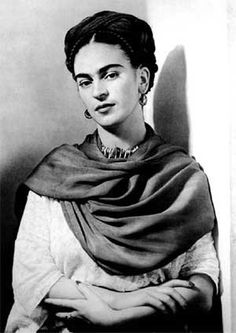 Black and White Frida Kahlo Poster is part of Portrait painting Black And White - Poster Additional sizes are available Diego Rivera, Art Photography Portrait, White Photography, Nickolas Muray, Frida Kahlo Portraits, Kahlo Paintings, Frida Art, Photo Images, Mexican Artists