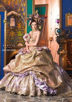 Weddings are different . Fabulous Dresses, Beautiful Gowns, Beautiful Outfits, Nice Dresses, Wedding Dress Patterns, Colored Wedding Dresses, Bridal Dresses, Fantasy Gowns, Fairytale Dress
