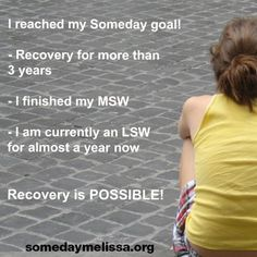 """""""Somedays"""" do come true! Has yours? Visit somedaymelissa.org to submit your """"Someday."""""""