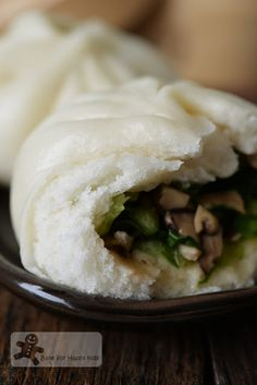 Vegetarian Vegetable Chinese Steamed Buns
