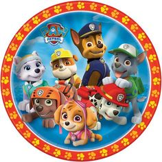 """9"""" PAW Patrol Party Plates, 8ct"""
