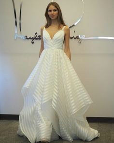 """The """"Decklyn"""" gown by Hayley Paige 