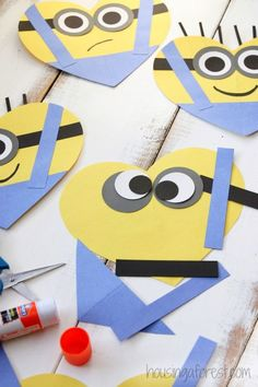 Valentine's Day Heart Minion Craft