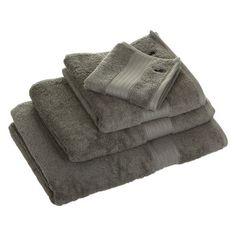 Grey Towels Ralph Lauren