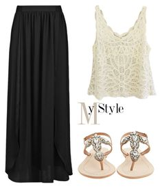 """Untitled #1165"" by mihai-theodora ❤ liked on Polyvore featuring MANGO and Antik Batik"