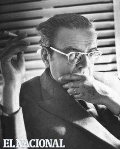 Mariano Picón Salas, pensador venezolano, escritor y ensayista. Caracas, 7-02-1965 (PEDRO GARRIDO / ARCHIVO EL NACIONAL)
