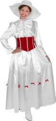 Adult Mary Poppins Halloween Costume (Large 10-12)