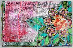 Art Journal Inspiration: Julie Fei-Fan Balzer