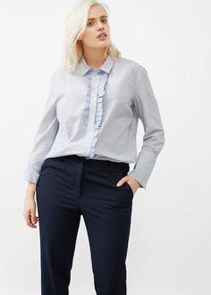 Detachable belt trousers