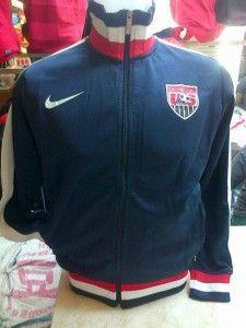 jual jaket timnas usa warna hitam dengan kerah merah grade ORI untuk ...