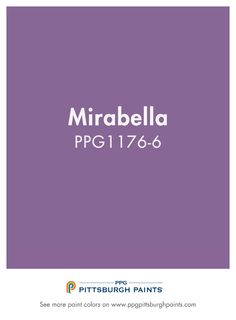 Browse Paint Colors Like Mirabella - PPG Pittsburgh Paints Girls Bedroom, Bedroom Ideas, Purple Paint Colors, White Trim, Interior Paint, Pittsburgh, Invites, Color Schemes, Purpose