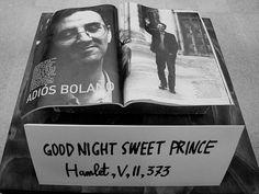 Homenaje de Nicanor Parra a Roberto Bolaño