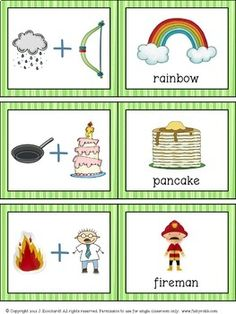 Compound Words Game & Worksheet