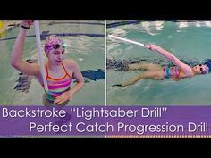 "Todays video is a super cool backstroke drill I like to call ""Lightsaber Drill"". This really helps my backstroke, so I definitely recommend you try it! Swimming Games, Swimming Drills, Swimming Tips, Kids Swimming, Triathlon Swimming, Competitive Swimming, Swimming Workouts For Beginners, Swimming Lessons For Kids, Swim Lessons"