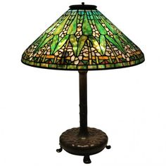 Tiffany & Co. Stained Glass Table Lamp : Lot 97