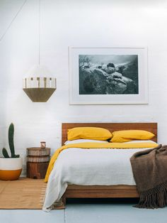 New handmade Dream Weaver lamp shade in the Northcote showroom of Pop & Scott. Photo by Bobby Clark of Bobby and Tide.