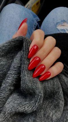 Red Nail Designs, Acrylic Nail Designs, Art Designs, Design Ideas, Blog Designs, Cute Nails, Pretty Nails, Red Acrylic Nails, Bright Summer Acrylic Nails