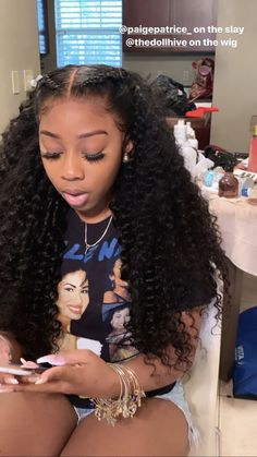 Deep wave wigs with lace for human hair – Haare und …-Diepe golf pruiken met k… Front Hair Styles, Medium Hair Styles, Curly Hair Styles, Natural Hair Styles, Natural Weave Hairstyles, Lace Frontal Hairstyles, Weave Ponytail Hairstyles, Hair Front, Braided Hairstyles For Black Women