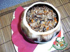 Гречка с грибами в горшочке ингредиенты