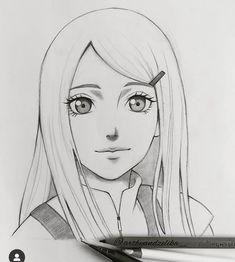 Naruto Drawings Easy, Naruto Sketch Drawing, Art Drawings Sketches Simple, Anime Sketch, Anime Naruto, Naruto Art, Otaku Anime, Human Face Drawing, Anime Character Drawing