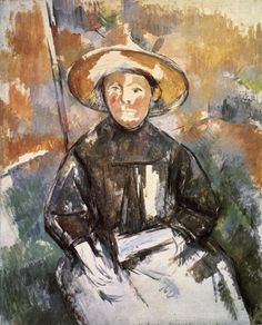 Paul Cezanne Child with Straw Hat hand painted oil painting reproduction on canvas by artist Cezanne Art, Paul Cezanne Paintings, Cezanne Portraits, Paintings Famous, France Art, Paul Gauguin, Oil Painting Reproductions, Renoir, Manet