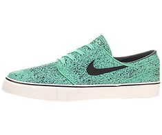 Nike Mens Zoom Stefan Janoski Prem Crystal MintBlkGm Lght Brwn Skate Shoe 13 Men US -- More info could be found at the image url.
