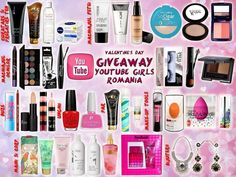 2 Coafuri ptr.Valentine's Day- YouTube Girls Romania BIG GIVEAWAY